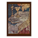 The Mass Of St. Martin Wondrous  By Martini Simone Greeting Card