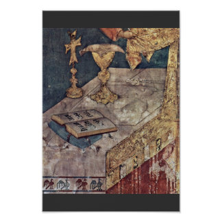 The Mass Of St. Martin Wondrous  By Martini Simone Posters