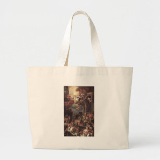 The Massacre of the Giustiniani at Chios Large Tote Bag