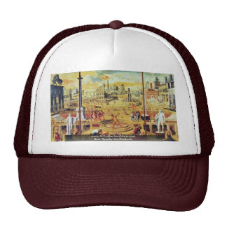 The Massacre Of The Triumvirate By Caron Antoine Trucker Hats