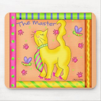 The Master Cat Mouse Pad