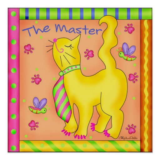 The Master Cat Poster