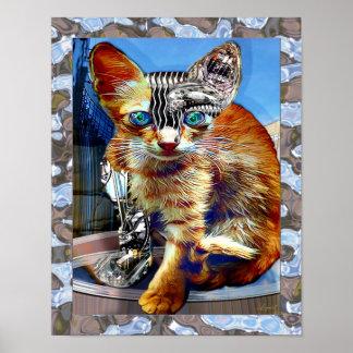 The Master Cat Print