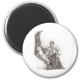 The master of an aikido - use of energy of the cen 2 inch round magnet