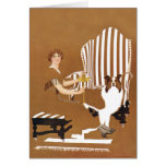 The Master's chair Greeting Card