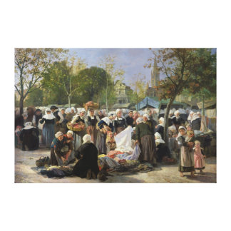 The Material Market Canvas Print