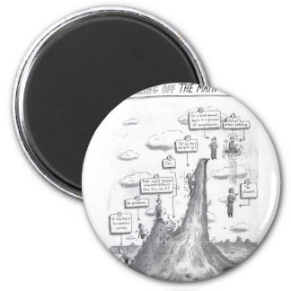 The Math Process 2 Inch Round Magnet