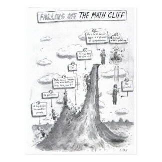 The Math Process Postcard