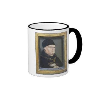The Matheron Diptych: Portrait of Rene I Ringer Coffee Mug