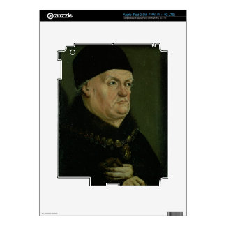 The Matheron Diptych: portrait of Rene I the 'Good Skin For iPad 3