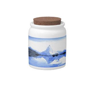 The Matterhorn Candy Jars