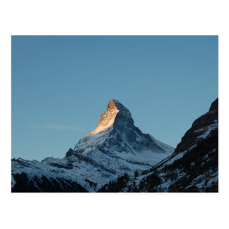 The Matterhorn Mountain Postcard