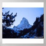 The Matterhorn, Zermatt Poster