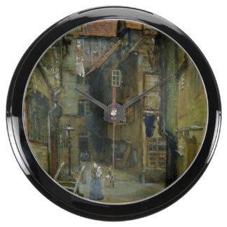 The Matthiasstrasse in Hamburg, 1891 Fish Tank Clocks