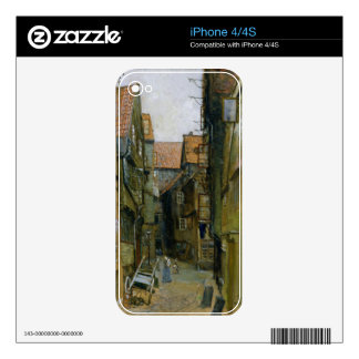 The Matthiasstrasse in Hamburg, 1891 Decal For The iPhone 4