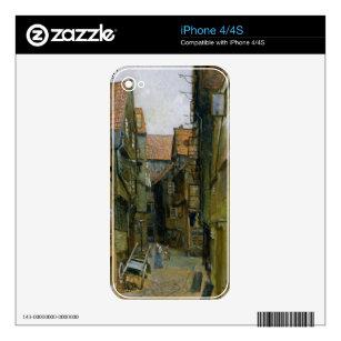 The Matthiasstrasse in Hamburg, 1891 Skin For iPhone 4
