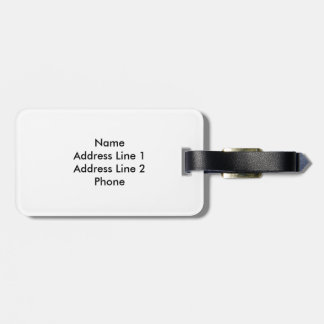 The Mattwork Luggage Tag