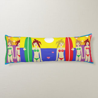 The Maui Twins Body Pillow