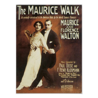 The Maurice Walk Vintage Songbook Cover Poster