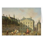 The Mauritshuis from the Langevijverburg Greeting Cards