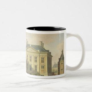 The Mauritshuis from the Langevijverburg Coffee Mug