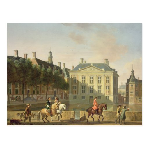 The Mauritshuis from the Langevijverburg Post Cards