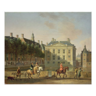 The Mauritshuis from the Langevijverburg Poster