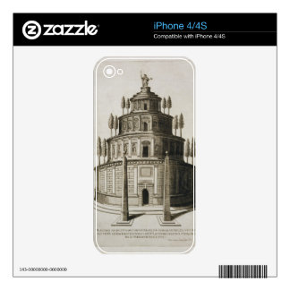 The Mausoleum of Augustus and his family in Rome, iPhone 4 Decals