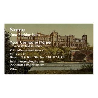 The Maximilianeum, Munich, Bavaria, Germany vintag Business Cards