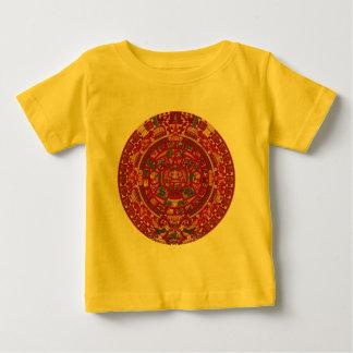 The Mayan (Aztec) Calendar Wheel Baby T-Shirt