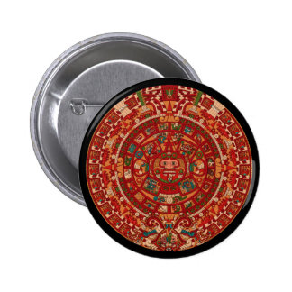 The Mayan / (Aztec) calendar wheel Button