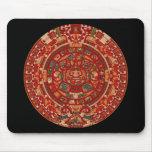 The Mayan (Aztec) Calendar Wheel Mouse Pad