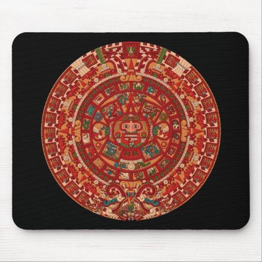 The Mayan (Aztec) Calendar Wheel Mouse Pads