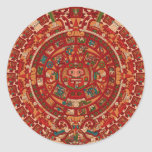 The Mayan / (Aztec) calendar wheel Stickers