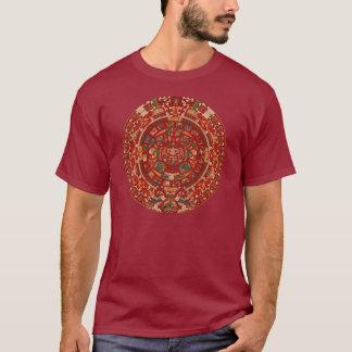 The Mayan / (Aztec) calendar wheel T-Shirt