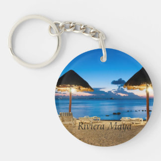 the Mayan Riviera Keychain