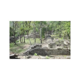 The Mayan Ruins, Copan, Honduras Canvas Print