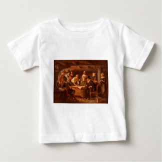The Mayflower Compact by Jean Leon Gerome Ferris Baby T-Shirt