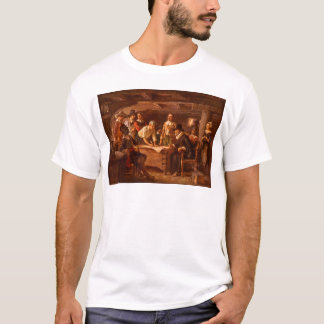 The Mayflower Compact by Jean Leon Gerome Ferris T-Shirt