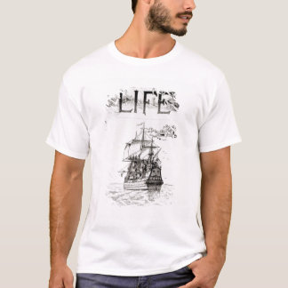 The Mayflower, front cover from 'Life' T-Shirt