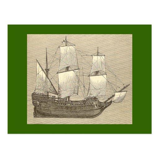 The Mayflower Postcard