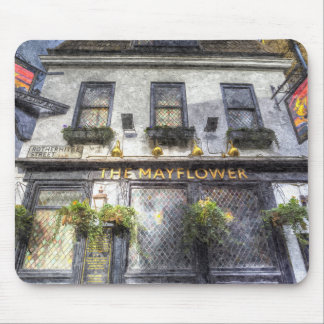 The Mayflower Pub London Art Mouse Pad