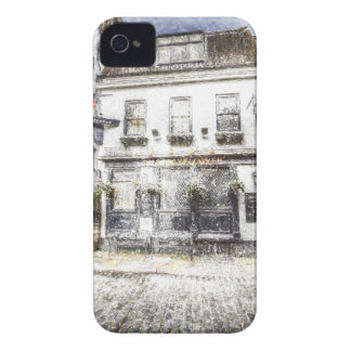 The Mayflower Pub London Snow iPhone 4 Cover