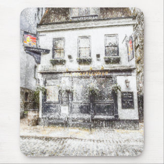 The Mayflower Pub London Snow Mouse Pad