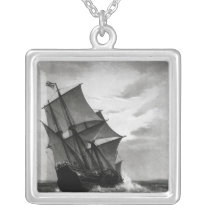 The Mayflower Silver Plated Necklace