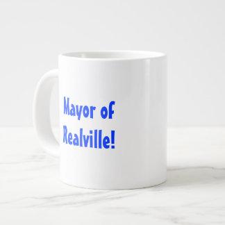 The Mayor of Realville! Large Coffee Mug