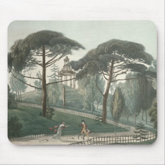 The Maze or Belvedere of the Jardin des Mouse Pad