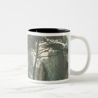 The Maze or Belvedere of the Jardin des Two-Tone Coffee Mug