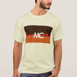 The MC Mackinaw City, MI Men's  T-Shirt