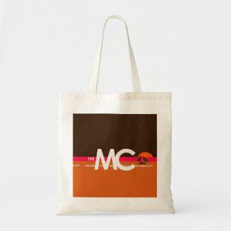 The MC Mackinaw City, MI Tote Canvas Bags